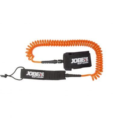 Jobe SUP leash coil orange