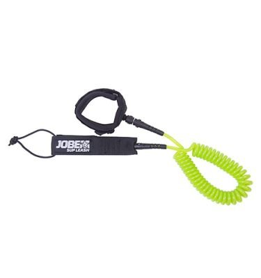 Jobe sup leash coil green