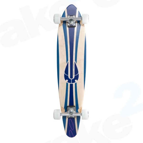 Urban Blue Kicktail Longboard - Best Quality Cheap Longboards For Sale Online - UK Skate Shop - Wake2o