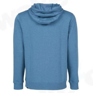 Volcom Single Stone Zip FLeece Hoodie - Blue - Best Surf And Skate Clothing - UK Skate Shop - Wake2o
