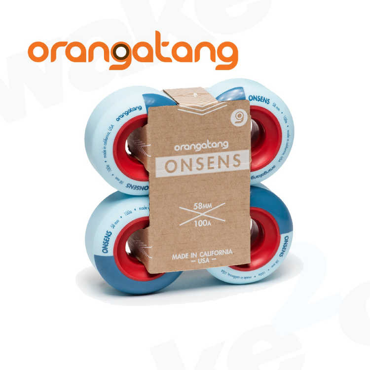 Orangatang Onsen Longboard Wheels - Best Price On Wheels - UK Skate Shop - Wake2o.co.uk