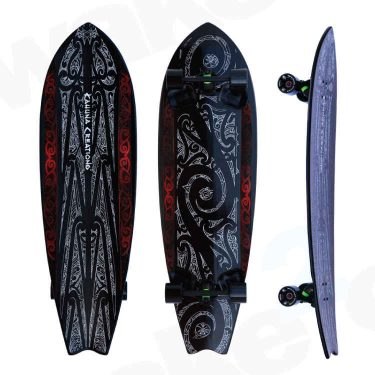 Kahuna Creations Shaka Sua Longboard - Land Paddle - Buy Online Or Instore At Shrewsbury Longboard Shop Wake2o. UK Skateboard Shop