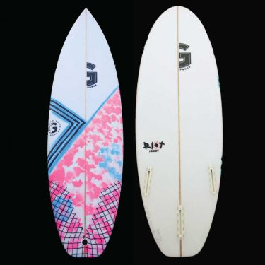 Graham Smith Surfboards Riot Jordy Smith Model