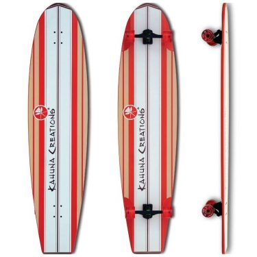 Kahuna Creations Bombora Longboard Coral - Land Paddle UK - Wake2o