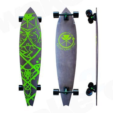 "Kahuna Creations Haka Neo Longboard 47"" - Buy Online Or Instore At Shrewsbury Longboard Shop Wake2o. UK Skateboard Shop"