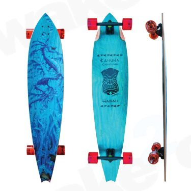 "Kahuna Creations Haka Sea Dragon Longboard 47"" - Buy Online Or Instore At Shrewsbury Longboard Shop Wake2o. UK Skateboard Shop"