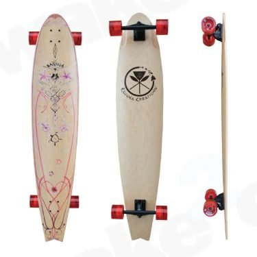 Kahuna Creations Pohaku Wahine Rider Longboard - Land Paddle - Buy Online Or Instore At Shrewsbury Longboard Shop Wake2o. UK Skateboard Shop
