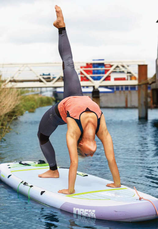 Jobe aero sup package - inflatable Lena Yoga SUP 2018