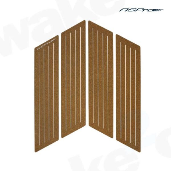 Rspro Front Deck Grip - Surfboard Traction Pads - 1mm Cork - Best Surfing Accessories - Wake2o