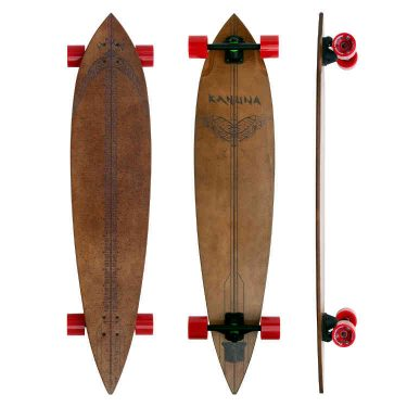 "Kahuna Creations Haka Cruiser Longboard 47"" - Buy Online Or Instore At Shrewsbury Longboard Shop Wake2o. UK Skateboard Shop"