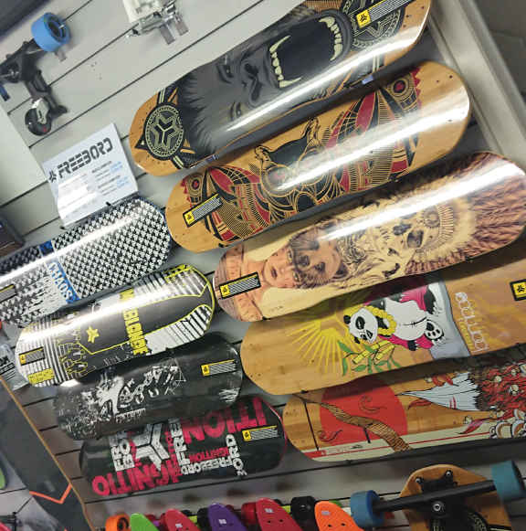 Freebord Features In The Wake2o Shop At Shrewsbury