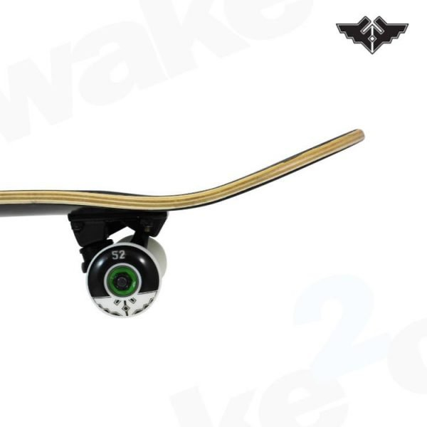 Fracture Fade Black Skateboard Complete - 8.0 - Hardwear And Accessories - Buy Best Cheap Skateboards Online At Wake2o.co.uk