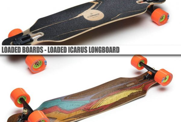 Loaded Icarus Longboard - The Best Surf, Snowboard Feel From A Skateboard - Wake2o